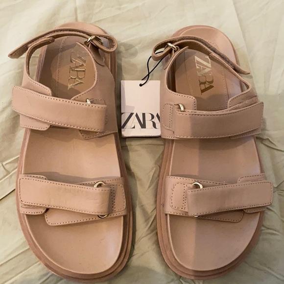 Zara  brand new heavy duty sandals